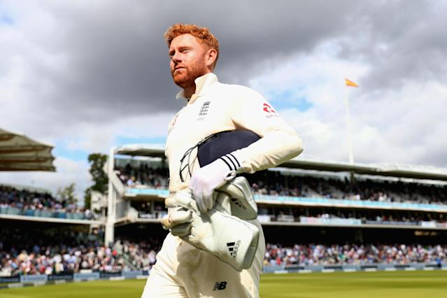 Fined: Bairstow is one of three players to receive a formal written warning: Getty Images