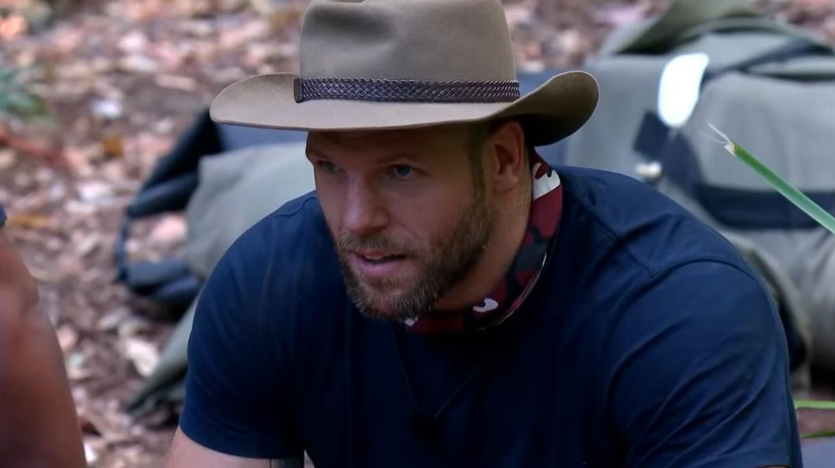 'I'm a Celebrity' star James Haskell sparked 78 complaints to Ofcom earlier this week when he made a 'clubfoot' quip to fellow campmate Ian Wright (ITV)