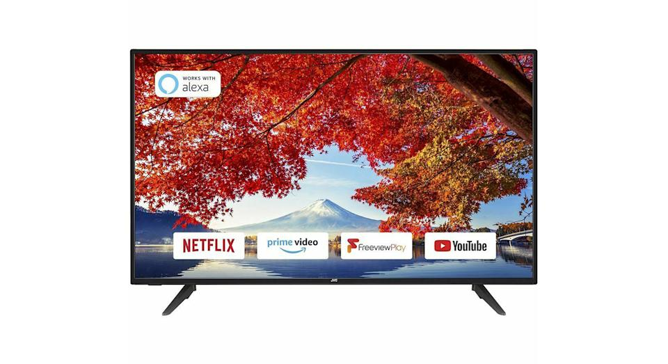 "JVC43"" Smart Full HD LED TV 50Hz Freeview Catch-up Streaming"