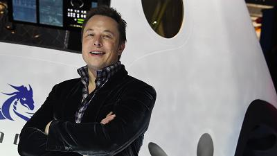 Elon Musk's new SpaceX spacesuit is the James Bond version