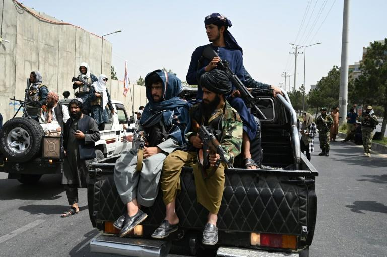 The Taliban were notorious for their brutal, oppressive rule from 1996 to 2001 when women were banned from schools and the workplace (AFP/Aamir QURESHI)