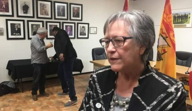 'People are wondering, what is it? Why is it only here? We are hoping somebody will tell us,' says Shippagan Mayor Anita Savoie Robichaud of the mysterious disease that has struck 43 people in New Brunswick.  (René Landry/Radio-Canada - image credit)
