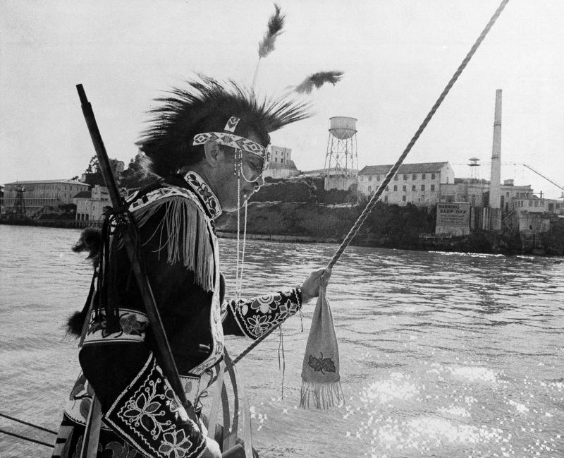 """Indian Land Forever"": The 50th anniversary of the Alcatraz Island takeover"