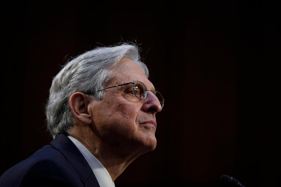Merrick Garland's nomination for attorney general passed out of committee by a bipartisan vote of 15-7. (Getty Images)