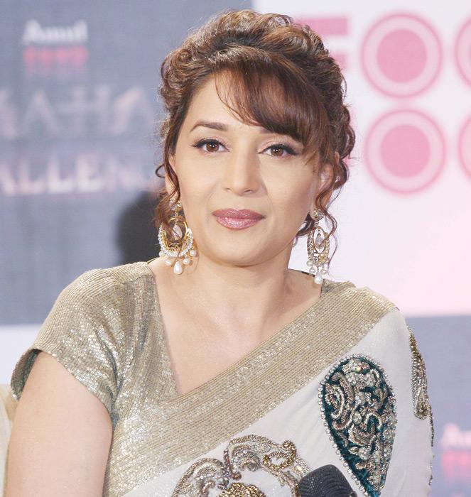 Madhuri turns a year older