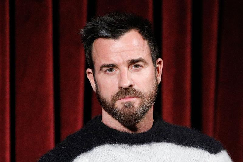 """NEW YORK, NY - DECEMBER 13: Actor Justin Theroux on stage during The Academy of Motion Pictures Arts and Sciences official Academy screening of """"On the Basis of Sex"""" at MoMA on December 13, 2018 in New York City. (Photo by Lars Niki/Getty Images for the Academy Of Motion Pictures Arts & Sciences)"""