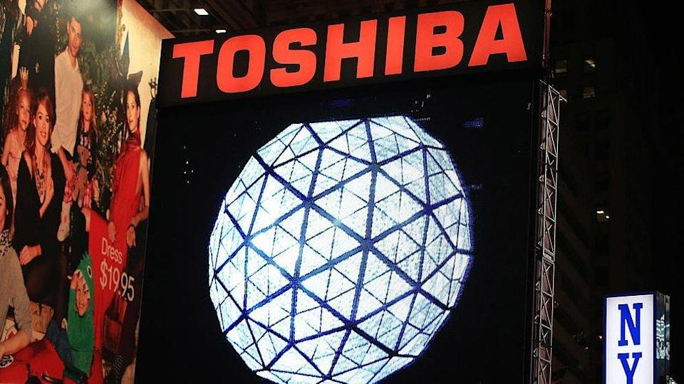 Toshiba has received a buyout offer from a British private equity fund