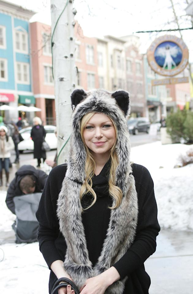 Laura Prepon out and about for Sundance Film Festival on January 20, 2012.