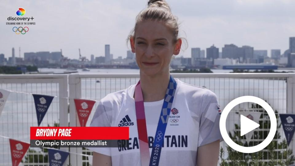 TOKYO 2020 - 'DON'T GIVE UP' - BRYONY PAGE'S MESSAGES TO ATHLETES STRUGGLING WITH CONFIDENCE