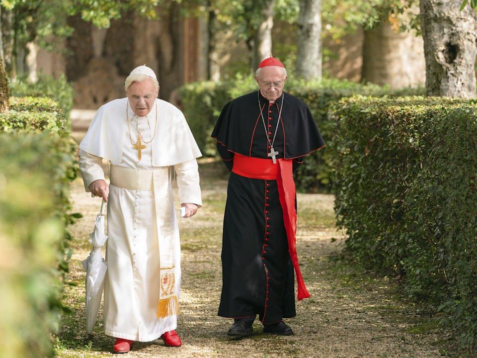 The Two Popes movie