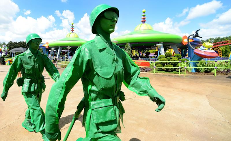 Disney decided to bring the green toy soldiers to life.