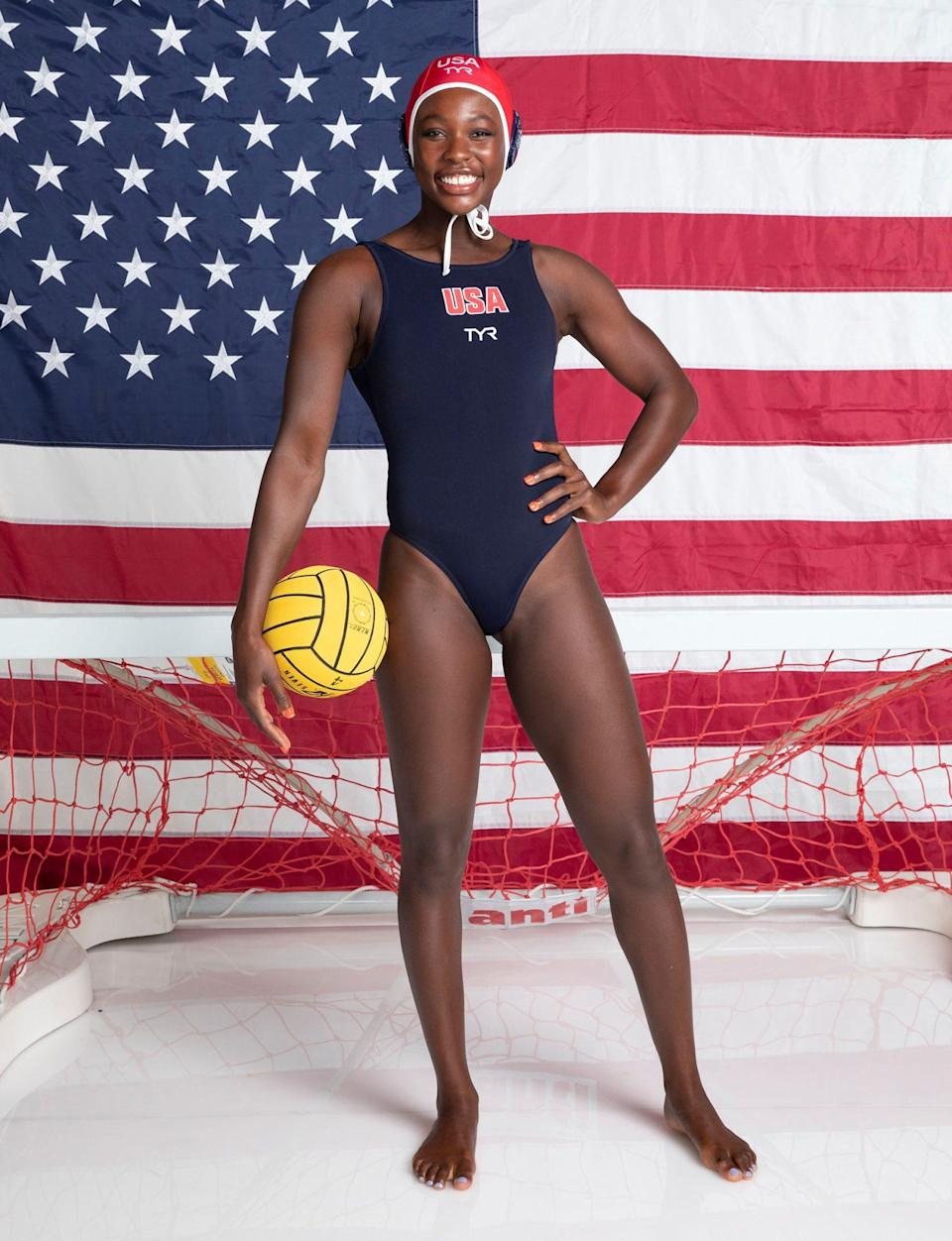 "<p>Water polo's Johnson, 26, already has an Olympic gold medal under her belt from the 2016 Olympics. Before finding success professionally, Johnson played water polo at Princeton University. The athlete is the first African American woman to compete for the U.S. on the Olympic stage in water polo, and<a href=""https://people.com/sports/water-polo-olympian-ashleigh-johnson-on-how-she-pivoted-her-training-after-games-were-postponed/"" rel=""nofollow noopener"" target=""_blank"" data-ylk=""slk:previously told PEOPLE"" class=""link rapid-noclick-resp""> previously told PEOPLE</a>, ""It's been a huge honor and responsibility for me to represent Black women in our sport, be an advocate for Black women in our sport and also drive to bring more people of color into our sport.""</p>"