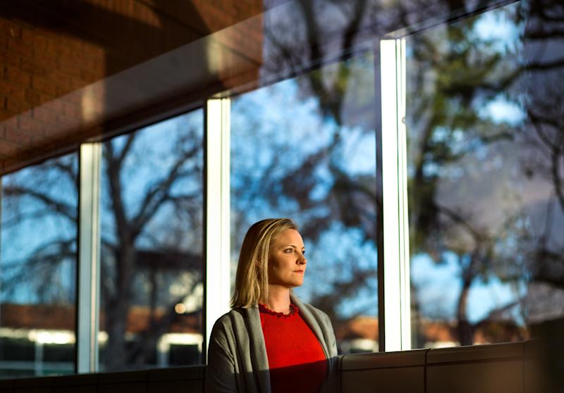Heather Martin survived the 1999 Columbine High School shooting. (Autumn Parry for HuffPost)