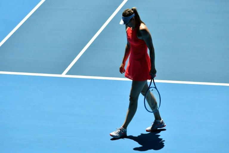 Maria Sharapova has lost in the first round at the last three Grand Slam tournaments