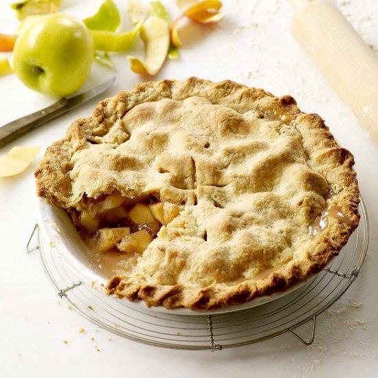 "<p>Grace Parisi uses a mix of Granny Smith, Pink Lady and Golden Delicious apples for this iconic dessert.</p><p><a href=""https://www.foodandwine.com/recipes/double-crust-apple-pie"">GO TO RECIPE</a></p>"