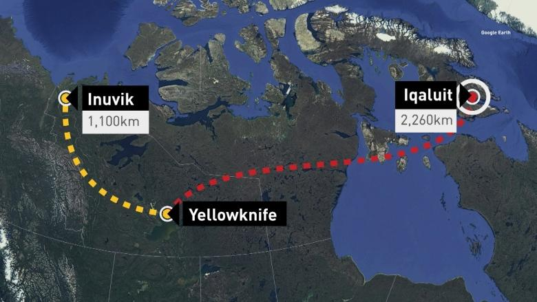 Winnipeg man flies nearly 2,300 km in wrong direction after getting on wrong flight to Arctic