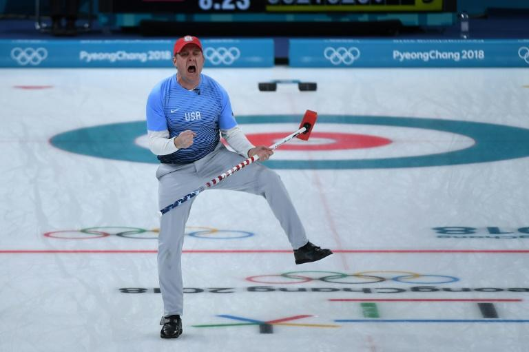 USA skip John Shuster led his team to their first curling gold