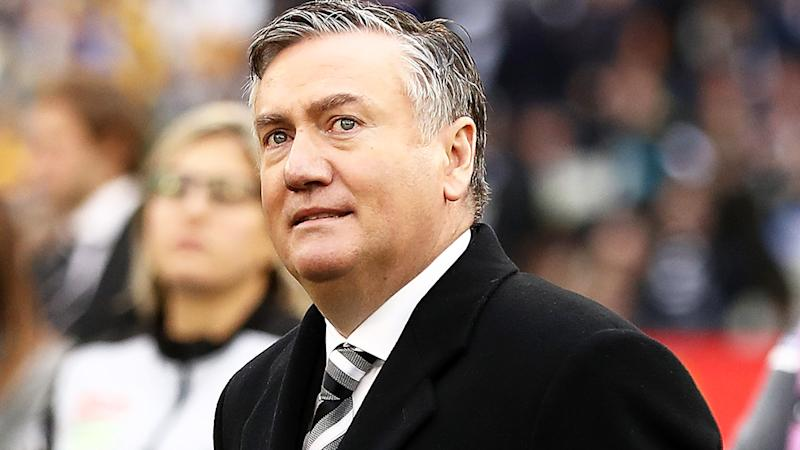 Eddie McGuire is pictured after the 2018 AFL grand final.