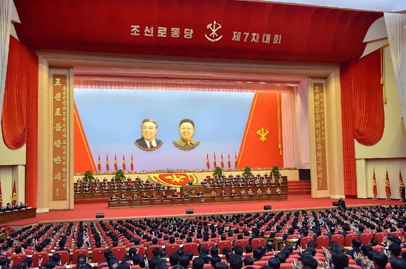 North Korea's 7th Workers Party Congress formally endorsed Kim Jong-Un's legacy 'byungjin' doctrine of building an effective nuclear arsenal in tandem with economic development (AFP Photo/-)
