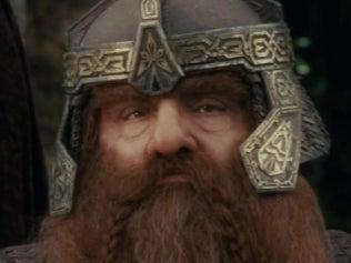 Gimli in the 'Lord of the Rings' franchise (New Line Cinema)