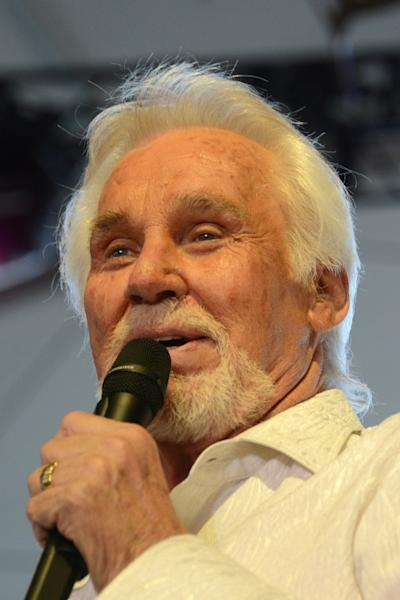 Kenny Rogers -- seen here performing in 2012 at the Stagecoach Country Music Festival in Indio, California -- once said he was not much of a gambler himself, despite his signature song (AFP Photo/Robyn BECK)