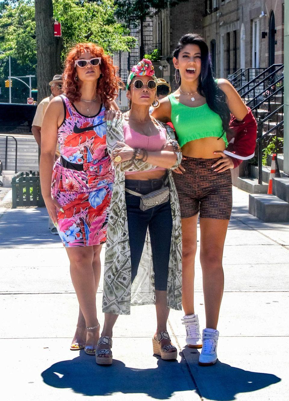 <p>Here, Rubin-Vega is joined by two TV stars, Dascha Polanco (<em>Orange Is the New Black</em>) and Stephanie Beatriz (<em>Brooklyn Nine-Nine</em>).</p>