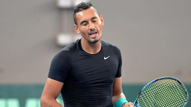 World number 15 Nick Kyrgios will start his clay-court season in Estoril after pulling out of Monte Carlo.
