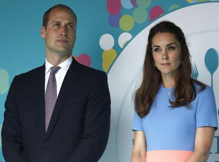 Prince William and his wife Kate Duchess of Cambridge attend the Patron's Lunch, an event to mark Britain's Queen Elizabeth's 90th birthday, in London, June 12, 2016. REUTERS/Peter Nicholls
