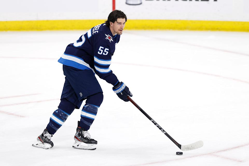 Winnipeg Jets center Mark Scheifele won't be eligible to return until Game 6 of the second-round series against the Montreal Canadiens.