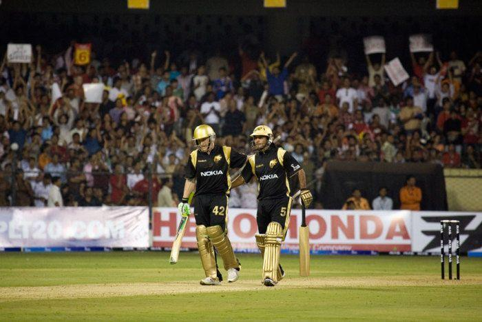 Brendon McCullum smashed his way to a 158* on his IPL debut