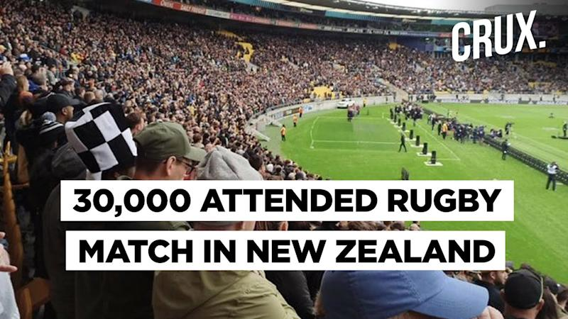 Photos Of Packed Stadium In New Zealand Spark Envy On Twitter