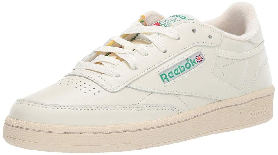"""<h2>Up to 30% Off Reebok<br></h2><br>""""Hello, I'm Alexandra! I'm the freshly hired associate writer specializing in deals for R29's shopping team. This Prime Day I covered anything from <a href=""""https://www.refinery29.com/en-us/2020/10/10073130/apple-products-deals-amazon-prime-day-2020"""" rel=""""nofollow noopener"""" target=""""_blank"""" data-ylk=""""slk:Apple products"""" class=""""link rapid-noclick-resp"""">Apple products</a> to <a href=""""https://www.refinery29.com/en-us/2020/10/10081128/oribe-hair-products-amazon-prime-day-deals-2020"""" rel=""""nofollow noopener"""" target=""""_blank"""" data-ylk=""""slk:Oribe's prime day debut"""" class=""""link rapid-noclick-resp"""">Oribe's prime day debut</a> and even rounded up some <a href=""""https://www.refinery29.com/en-us/2020/10/10087808/prime-day-alternatives-sales-other-than-amazon"""" rel=""""nofollow noopener"""" target=""""_blank"""" data-ylk=""""slk:counter-sales"""" class=""""link rapid-noclick-resp"""">counter-sales</a>. It was super fun, especially diving into all of the <a href=""""https://www.refinery29.com/en-us/2020/10/10085425/home-gym-workout-equipment-amazon-prime-day-deals-2020"""" rel=""""nofollow noopener"""" target=""""_blank"""" data-ylk=""""slk:hidden fitness deals"""" class=""""link rapid-noclick-resp"""">hidden fitness deals</a> that I will definitely be shopping.<br><br>I already own these throwback Reebok sneakers, but I wear them so much and they are so beaten up that I need to buy another pair. I first bought them at an outlet and I thought they were going to be just some throwaway white tennis shoes, but they're great! They're super light, comfy, and somehow always on sale."""" <br><br><em>— Alexandra Polk, Associate Deals Writer</em><br><br><strong>Reebok</strong> Women's Club C 85 Vintage Running Shoes, $, available at <a href=""""https://amzn.to/2FqLkc7"""" rel=""""nofollow noopener"""" target=""""_blank"""" data-ylk=""""slk:Amazon"""" class=""""link rapid-noclick-resp"""">Amazon</a>"""