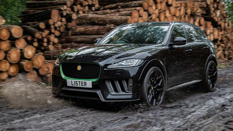Lister Stealth Fastest SUV in UK