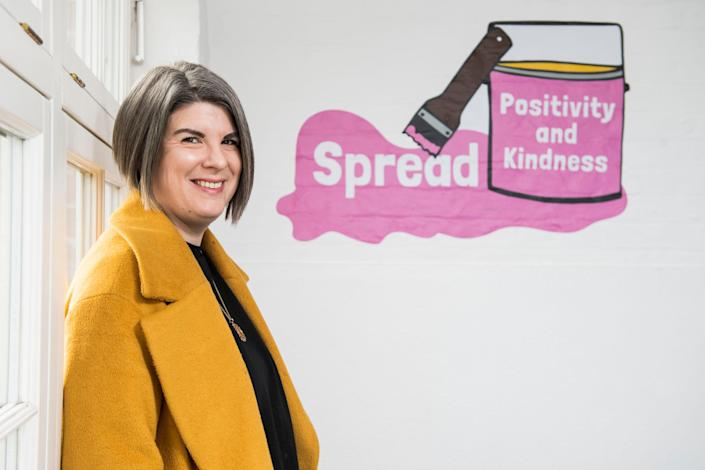 <p>Nicola Noble, co-headteacher of Surrey Square Primary School, warns about crudely saying 'we are back at school so everything's better'</p> (Lucy Young)