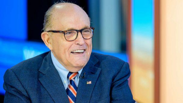 PHOTO: Former New York City Mayor and attorney to President Donald Trump, Rudy Giuliani, visits Fox Business Network Studios on Sept. 23, 2019, in New York. (Roy Rochlin/Getty Images)