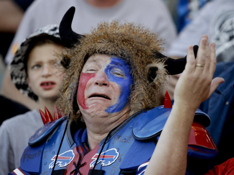 The great thing about ranking last in this index, Bills fans, is that you can only improve next season. (AP Photo/Jae C. Hong, File