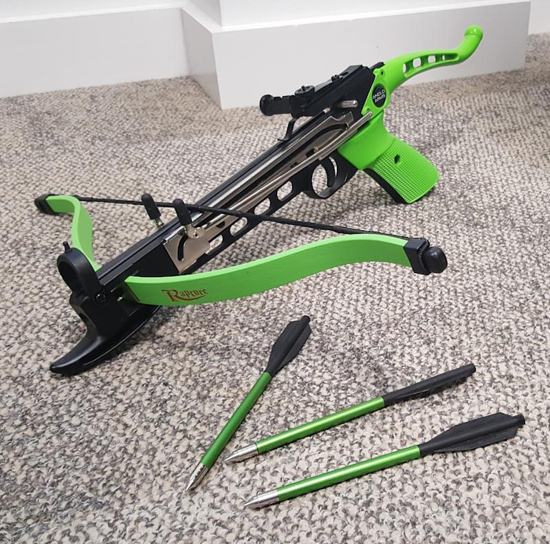 The crossbow David Jamieson was able to buy