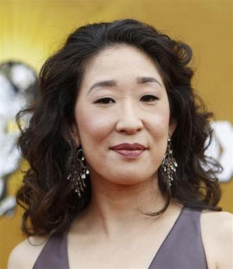 Sandra Oh arrives at the 41st Annual NAACP Image Awards at the Shrine auditorium in Los Angeles, February 26, 2010.