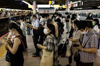 Five people have already tested positive in the Olympic Village, heightening fears that the influx of athletes, officials and media will add to a spike in cases in Japan