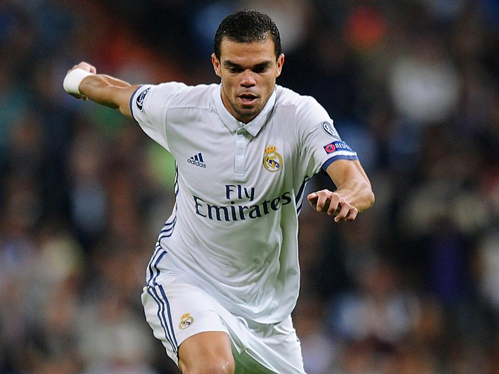 Pepe was named in Fifa's World XI last year: Getty