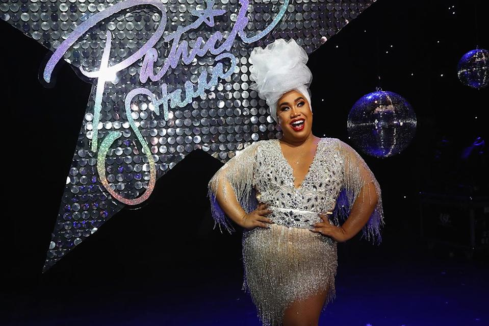 Patrick Starrr poses at The Damn Show with MAC in New York City. (Photo by Astrid Stawiarz/Getty Images for MAC Cosmetics)