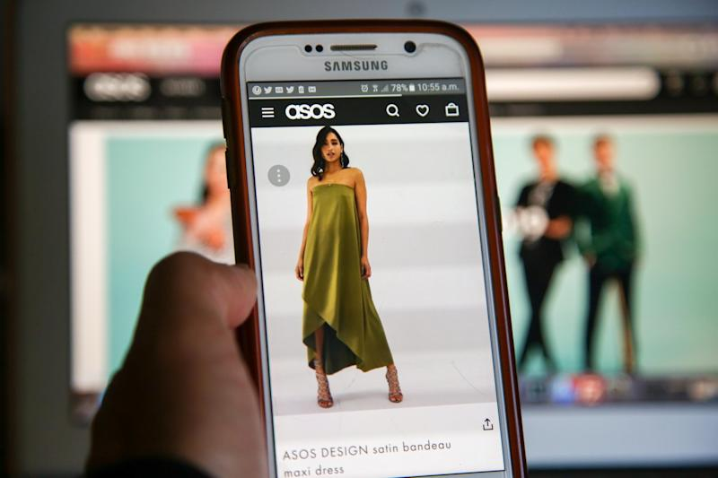 Asos mobile: Getty