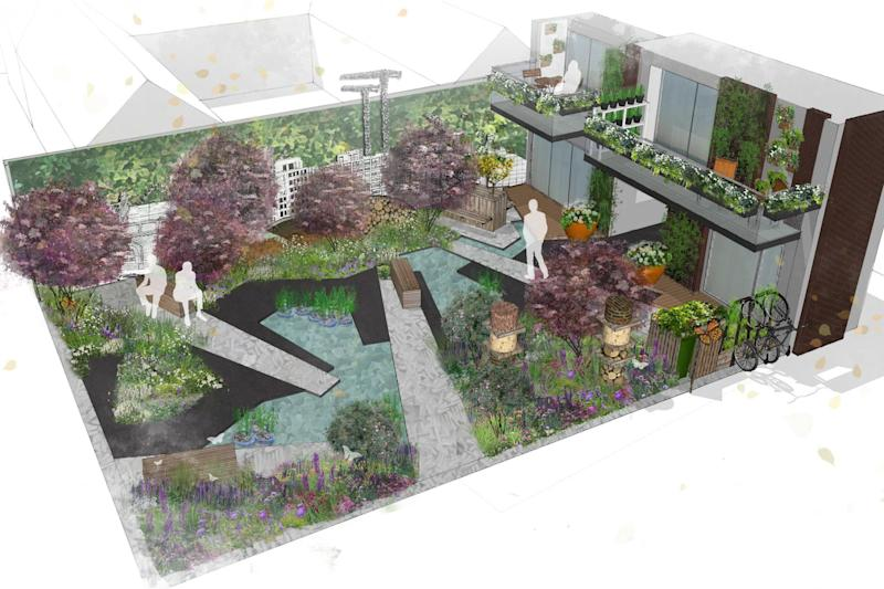 Communities could win this garden in the RHS competition: PA