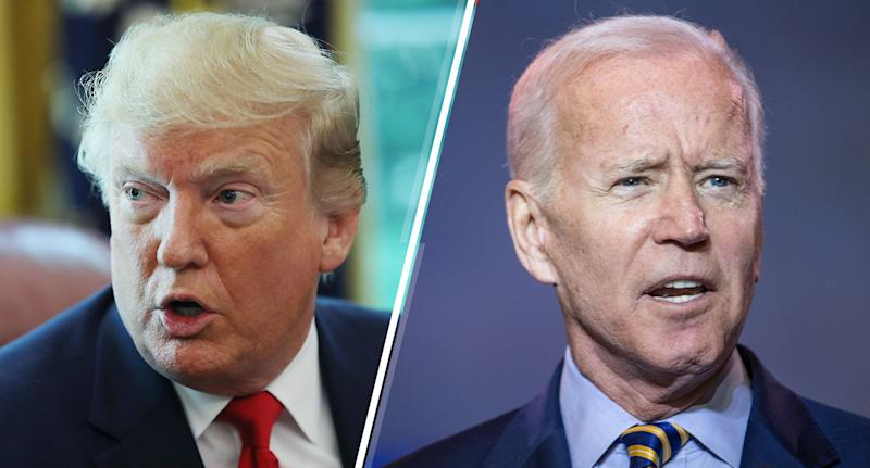 U.S. President Donald Trump and Democratic presidential candidate, former Vice President Joe Biden. (Photos: Mark Wilson/Getty Images - Sean Rayford/Getty Images)