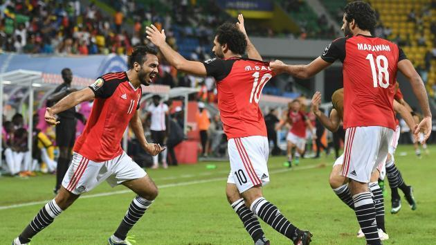 <p>Liverpool forward Salah bags brace to send Egypt to first World Cup since 1990</p>
