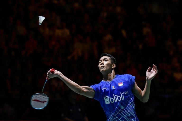 Jonatan Christie was part of the Indonesian team that was forced to withdraw