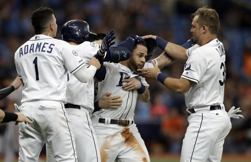 Tampa Bay Rays walk-off win.