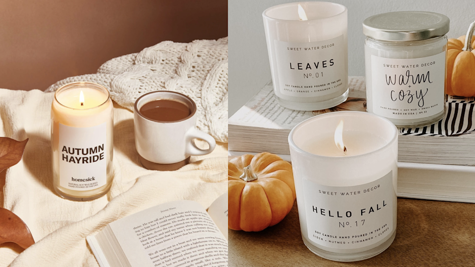 10 fall candles that will make your home feel so cozy