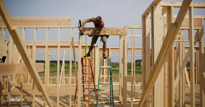 Whoa! Homebuilders feeling happiest in 10 years