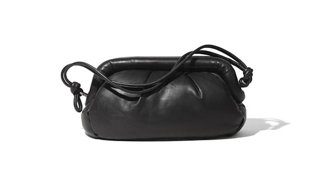 "<p><i>Leather shoulder bag, $199, <a href=""http://www.hm.com/us/product/75254?article=75254-A#campaign=CAMP_LADIES_STUDIO-AW2017-WOMEN&shopOrigin=CA&webShopOrigin=CA"" rel=""nofollow noopener"" target=""_blank"" data-ylk=""slk:hm.com."" class=""link rapid-noclick-resp"">hm.com.</a> (Photo courtesy of H&M) </i></p>"